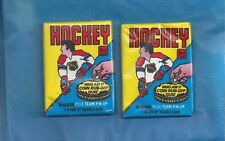 1980-81 TOPPS HOCKEY UNOPENED WAX PACK SEALED (LOT OF 2 PACKS) RAY BOURQUE RC ?
