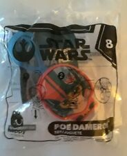McDONALD's 2019 STAR WARS HAPPY MEAL TOY #8 POE DAMERON🔥