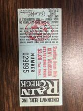 1970s Cincinnati Reds Senior Citizen General Admission ticket stub $1 Riverfront