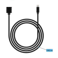 8 Pin Lightning Male to Female Extender Extension Cable for iPhone X 6 7 8 Plus