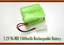 7.2V 2X3 AA Ni-MH 1800mAh Battery Pack w/. Tamiya Plug for Hobby RC Car Boat