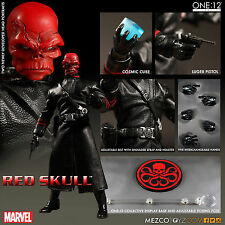 ONE:12 COLLECTIVE RED SKULL 1:12 Scale Action Figure MEZCO