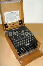 WW2 Picture Photo German Enigma Cipher Machine Military Codebreakers  2171