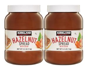 Kirkland Signature Hazelnut Chocolate Spread with Cocoa 2 x 1kg