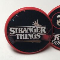 Stranger Things Birthday Party Favors Red Rings - Set of 36