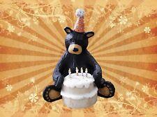 Bearfoots Happy Birthday Bear Big Sky Carvers Bear Foots Artist Jeff Fleming