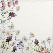 4x  Paper Napkins for Decoupage Craft -  Spring Frame