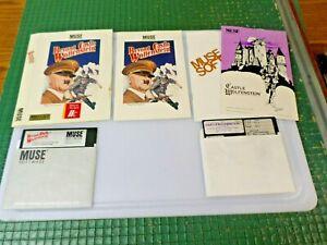 CASTLE WOLFENSTEIN 1981 & BEYOND CASTLE WOLFENSTEIN 1984 - APPLE II GAMES