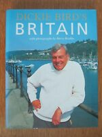 DICKIE BIRD'S BRITAIN WITH PHOTOGRAPHS BY DERRY BRABBS HARDBACK BOOK