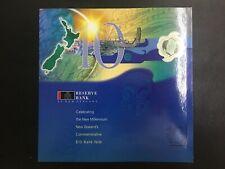 "New Zealand -10 Dollars  2000   ""Millennium"" Commemorative Issue  with Folder"