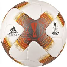 Adidas UEFA Europe League Omb Matchball Game Ball 2017 2018 White [BQ1874]