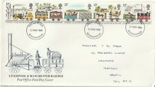 1980 GB FDC Liverpool and Manchester Railway Company