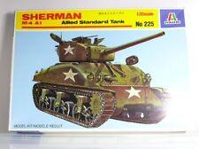 Italeri No 225  Panzer Sherman M4 A1  Allied Standard Tank   Bausatz  1:35   OVP