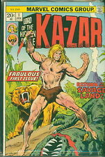 Comic Lot, Ka-zar Lord of Hidden Jungle 1-4,6-18 and Savage Land 1-5 ALL FVF