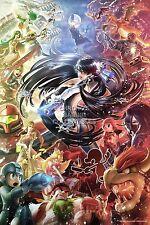 RGC Huge Poster - Super Smash Bros Art Bayonetta Nintendo Wii U Melee - EXT136
