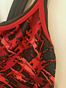 Size 28 DOLFIN Swimsuit Red Rondo DBX Back #473 NEW w/Tags