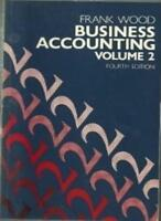 Business Accounting: v. 2, Wood, Frank, Used; Good Book