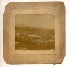 1897 James J. Corbett v Fitzsimmons Mounted Albumen Boxing Photo by High Castle
