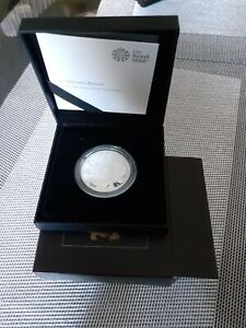The Queen's Beasts 2021 1oz Silver Proof Coin - Queens Beast - Completer 1 oz