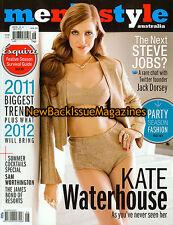 Australian Men's Style 12/11,Kate Waterhouse,December 2011,NEW