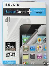 BELKIN Tru Clear Screen Guard Protector + Mirror (2 PK) iPod Touch 4G *BOGO 50%