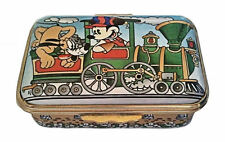 Halcyon Days Enamels Disney Mickey Character Train  LE 500