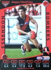 2012 AFL TEAMCOACH ESSENDON BOMBERS ANGUS MONFRIES #137 COMMON CARD FREE POST
