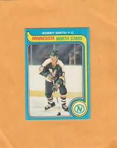 1979-80 O PEE CHEE BOBBY SMITH ROOKIE NO:206 Ex mint cond   see scan   LOT 89  a