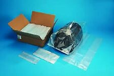 Clear 1-Mil Gusseted Bags FDA Plastic Poly Baggies Gusset Packaging