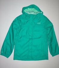 Under Armour Girls Youth UA Bora Full zip Windbreaker Jacket Med $75