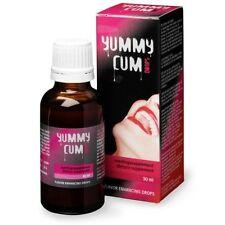 YUMMY CUM DROPS 30ml Semen sperm Flavour Enhancer Drops Daily Liquid Sex Love