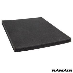 Ramair Large Foam Pad Filter 300 x 200 - DIY - Hoover - Vacuum Cleaner