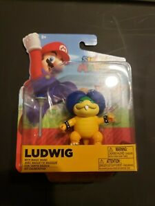 Ludwig Super Mario Jakks Pacific 4 inch scale Figure