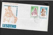 LESOTHO 1970 FIRST DAY COVER MOSHOESHOE I AND MOSHOESHOE I WITH TOP HAT