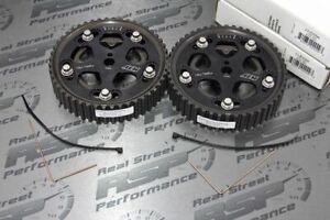 AEM x2 Cam Gears Mitsubishi Eclipse DSM 1G 2G 4G63 4G63T Talon GSX PAIR SET