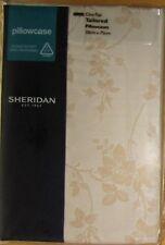 SHERIDAN Tailored Pillowcase PAIR 50x75cm HELLMAN WHEAT New