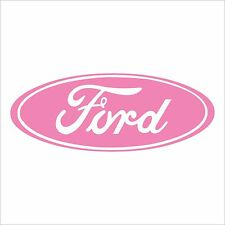 Ford Decal Script Oval, Many Colors, Many Sizes