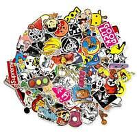 100 Aufkleber / Sticker-bomb Retro-, Graffiti- Style,Tuning Logos & Marken -Set5