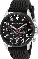 "MICHAEL KORS GAGE CHRONOGRAPH MEN MK8334 WATCH ""Pre-Owned"""