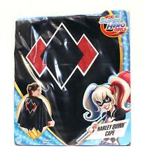 DC SUPER HERO GIRLS Harley Quinn Cape for Dress up or Halloween Costume - NEW