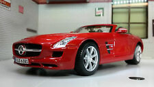 Mercedes SLS AMG Roadster 31272 Detailed Diecast Model Car G 1:24 Scale RED