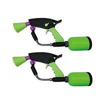 Splatoon 2 Spla Maneuver Splat Dualies Neon Green F/S w/Tracking# New from Japan