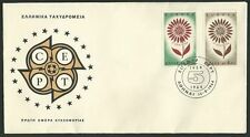 Greece. Europa Cept 1959-1964 22 petals (the member Europe countries), Greek FDC