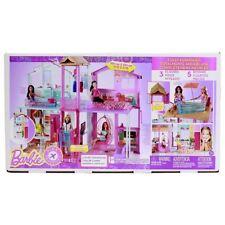 Barbie Three-Storey Townhouse Playset