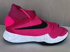 Men's Nike Zoom Hyperrev 2016 Think Pink BCA Basketball Shoes Size 10 820224 606