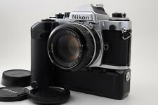 【Exc++】  Nikon FE  w/ MD-12 , Ai  50mm F/1.4 Lens MF Camera from Japan #188
