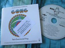 Gong  8 track radio sampler CHARLY E178 P UKPromo CD Album