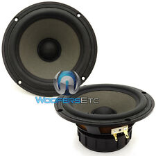 "(2) FOCAL 6V1 POLYGLASS SOUND QUALITY 6.5"" MIDS COMPONENT MIDRANGE SPEAKERS NEW"