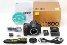【Mint in Box】Nikon D600 24.3MP Digital SLR Camera Body Only From Japan #885