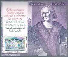 Italie Sc  1888 I Viaggi Di Colombo Bloc